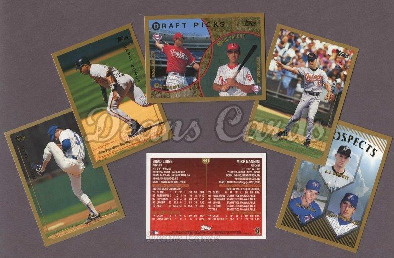 1999 Topps Baseball Complete Set
